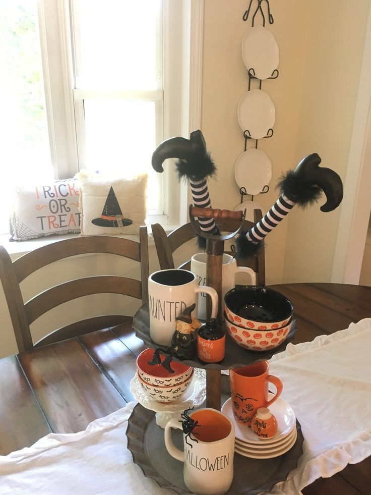 My Rae Dunn Halloween Amp Fall Decor Adventure Rustic