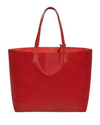 2a69347374 Mansur Gavriel Oversized Lamb Leather Tote Bag