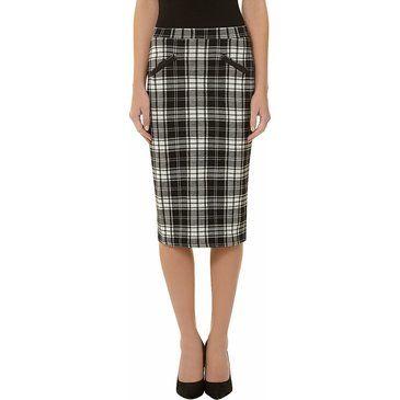 Модные юбки в клетку 2013. Хит сезона осень-зима