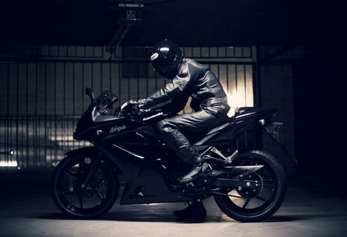 Kawasaki Ninja I will own one and ride everyday.