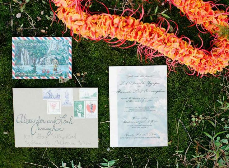 Wonderfully Original For A Hawaii Wedding Photo By Austin Gros Photography Fls Pion Roots