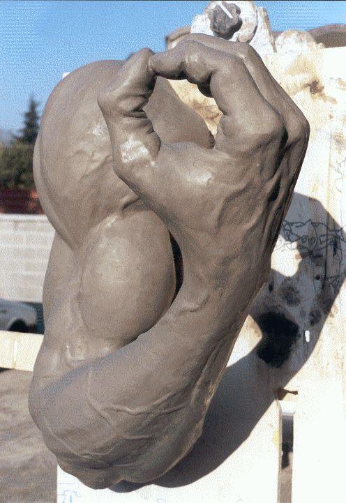 arm - plasticine