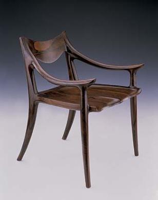 lowback side chair by sam maloof american art