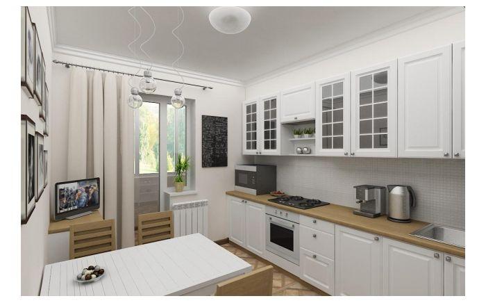 Скандинавский стиль: просто и стильно - Кухня фото 3