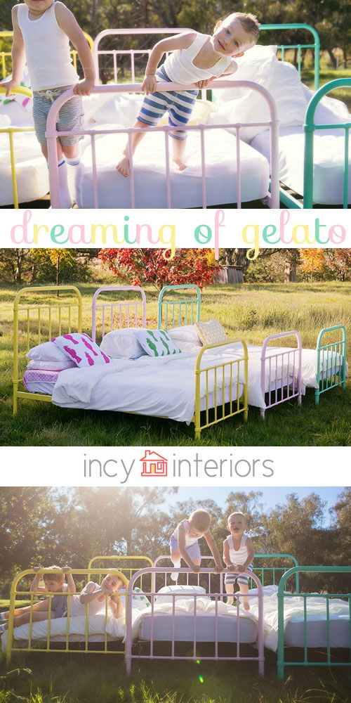 Delicious Beds In Every Flavour: Introducing The Gelato Bed Range Available At Incy Interiors
