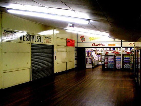 Inside the Merrion Centre