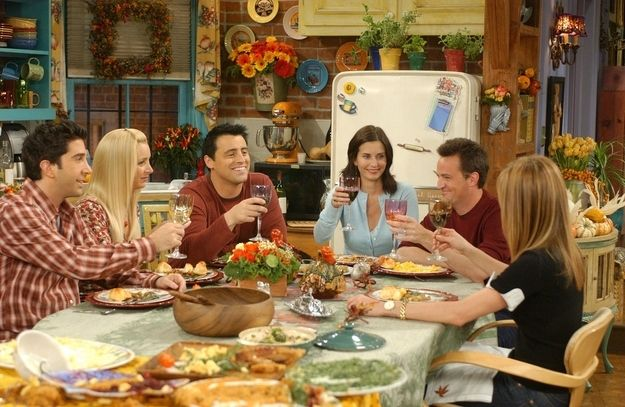 The host will set a nice table.   17 Rules Of Friendsgiving
