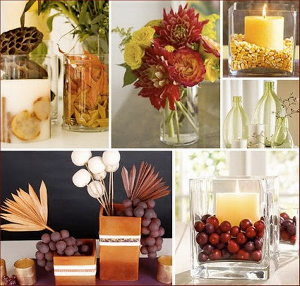 Create Your Own Ambience: Easy Thanksgiving Centerpieces