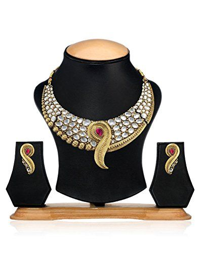 Pink Stone Indian Bollywood Gold Plated Elegant Tradition... https://www.amazon.com/dp/B01NAU5780/ref=cm_sw_r_pi_dp_x_hCDHyb6BT2Y4Z
