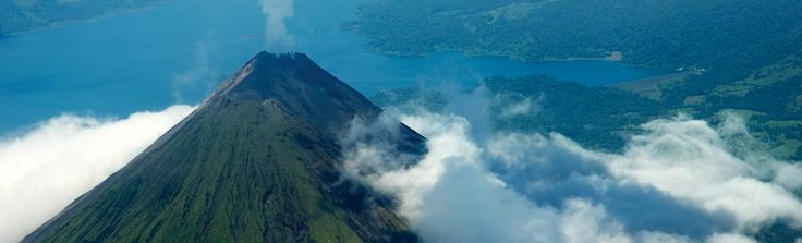 Costa Rica!  Looks like Volcan Arenal where I visited in January of 2012.