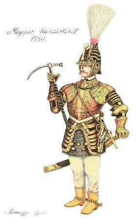 Magyar huszár 1550