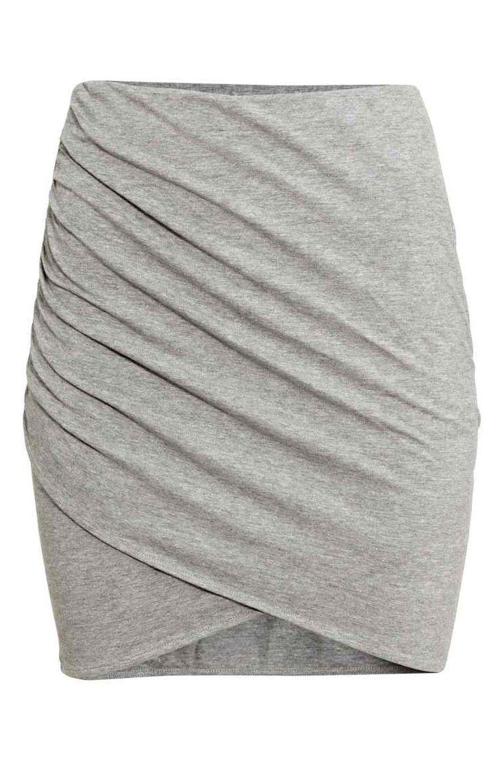 Drapowana spódnica | H&M