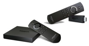 Amazon Fire TV and Fire TV Stick