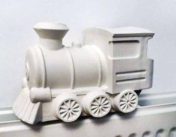 Fill this porcelain train with water and put it on your heater so it becomes a steamtrain humidifier  . . #train #steam #humidifier #porcelain #hollow #ceramic #matte #ceramics #open #top #wheels #pipe #cabin #rail #railroad #home #interior #design #fun #Lorier #handmade