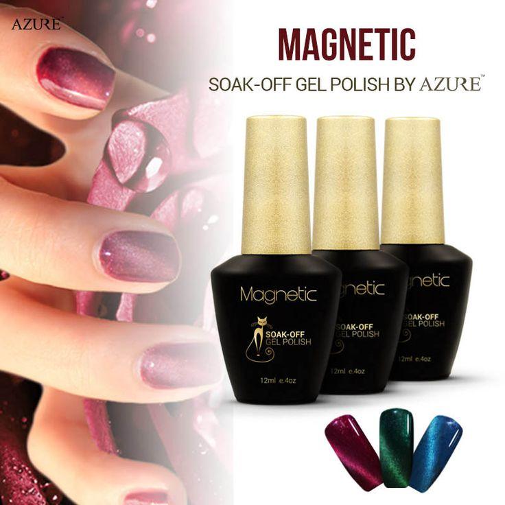 Azure beauty magnetische pulver nagelgelpoliermittel uv/led 12 ml katze augen 30 gesunde gel lack farbe benötigen magnet stick