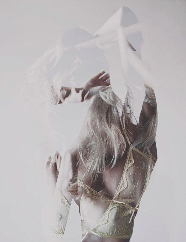 Beautiful and experimental photography of Blanka Javorska from Models Division.