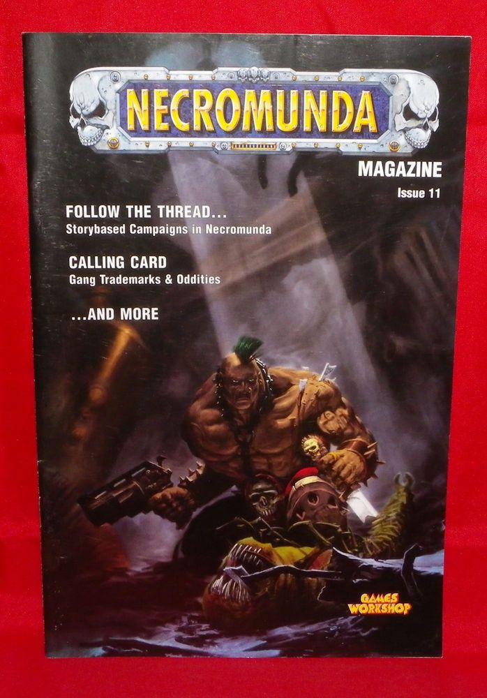 GW Necromunda Magazine Issue 11 #11 Warhammer Games Workshop #GamesWorkshop