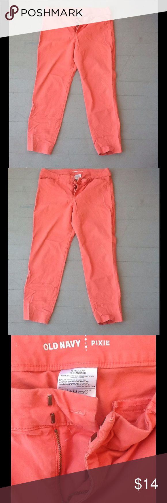 Salmon pants Salmon colored ankle length pants * 20% OFF 2+ BUNDLES * Old Navy Pants