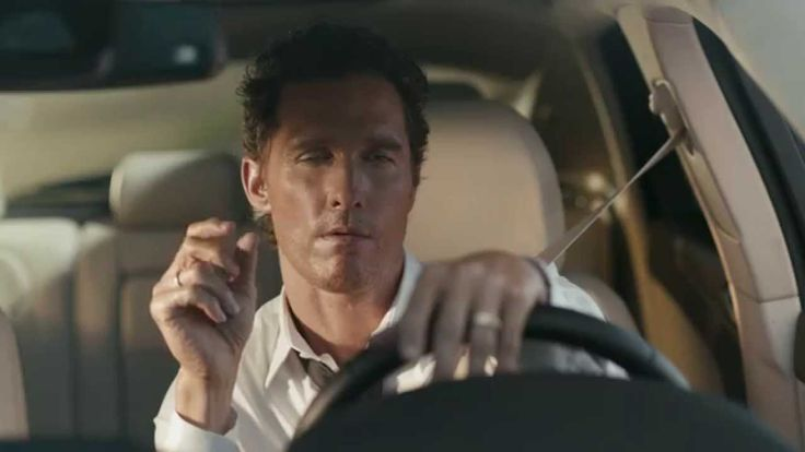 """Matthew McConaughey and the MKC: """"Bull"""" Official Commercial - reference to his character in """"True Detective"""""""