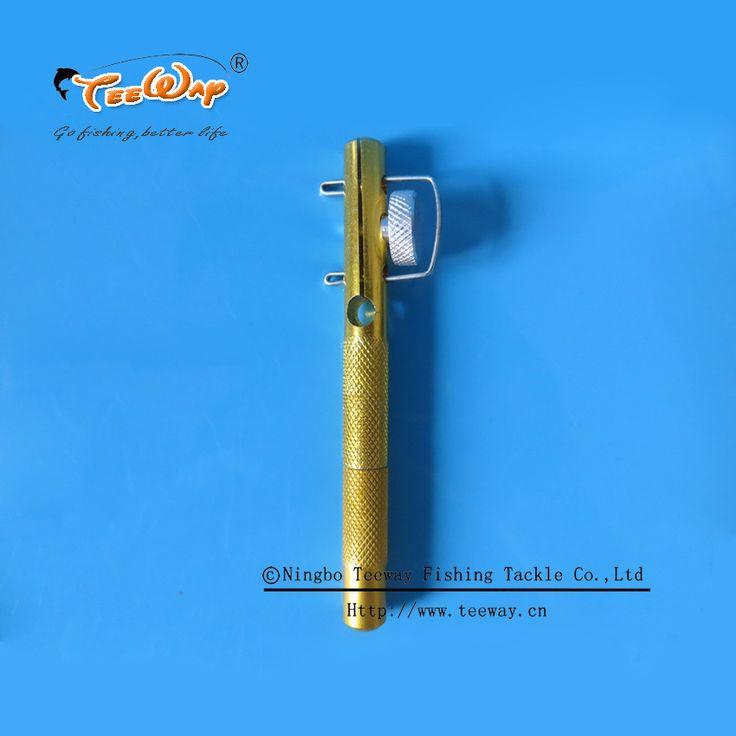 Envío de la alta calidad de aleación de aluminio del atador línea anzuelos Device nivel sub línea pequeños ganchos herramienta de la pesca