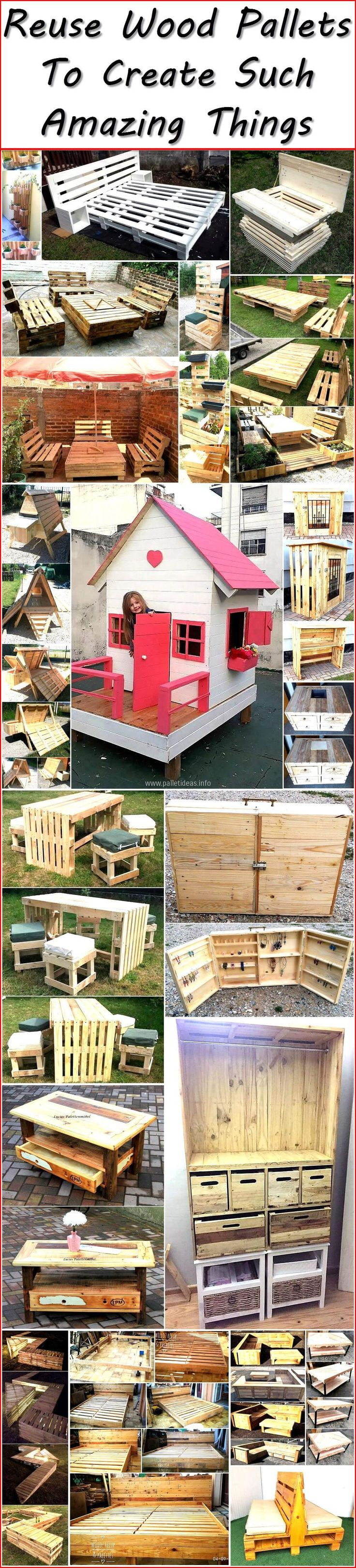 The wood pallet craft has become very popular these days for its economy and diversity that if offers you at the ease of your home. Another benefit of used wood pallet craft is that it is easily available at various warehouse stores, industrial areas and electronic appliances shops. You have to chose the right kind of pallets to accomplish your required furniture in a skillful manner.