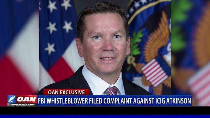 Fbi whistleblower filed complaint against ig michael
