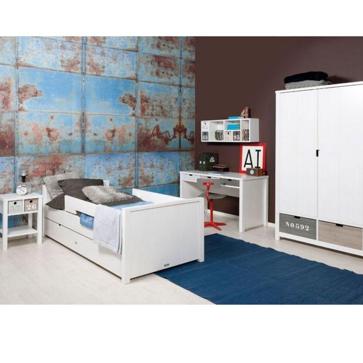 Junior & Tiener slaapkamers > Slaapkamer Basic-Wood > Webshop Basic Wood bedlade Bopita | Verwende apen