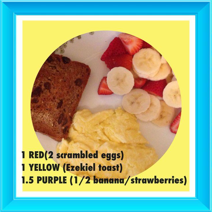 21 day fix breakfast #21dayfix