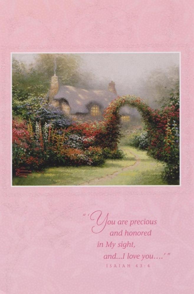 Christian Greeting Card, Birthday, Thomas Kinkade #DaySpring #BirthdayAdult