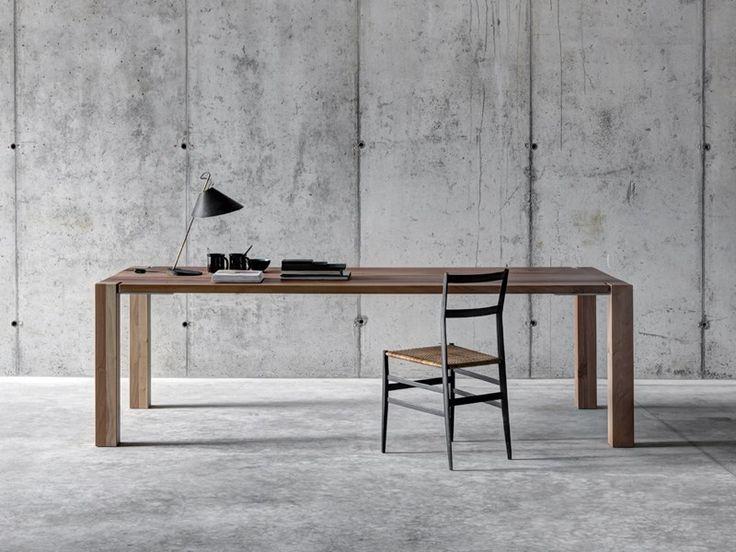 Tavolo alto rettangolare in legno WF1 by FIORONI design Fioroni crs