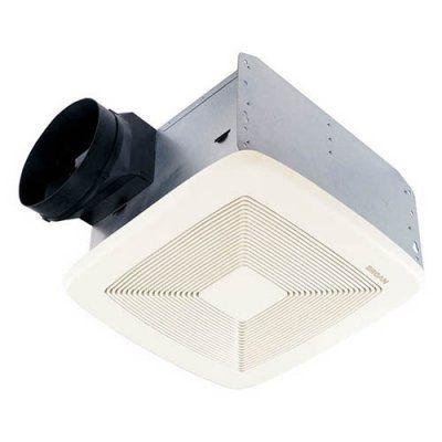 Broannutone Qtxe080 Ultra Silent Bathroom Fan  Energy Star Classy Small Fan For Bathroom Inspiration