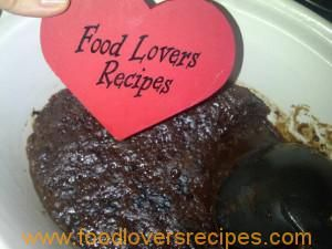 CHOCOLATE FUDGE PUDDING IN SLOW COOKER