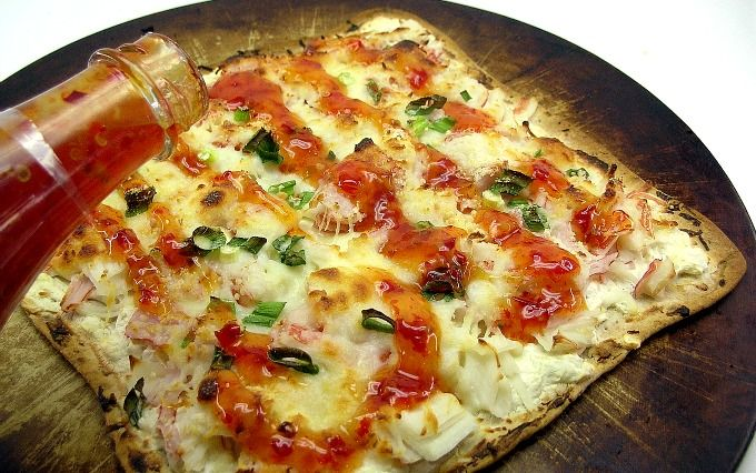 Crab Rangoon Pizza Recipe Something New Pizza And Sauces