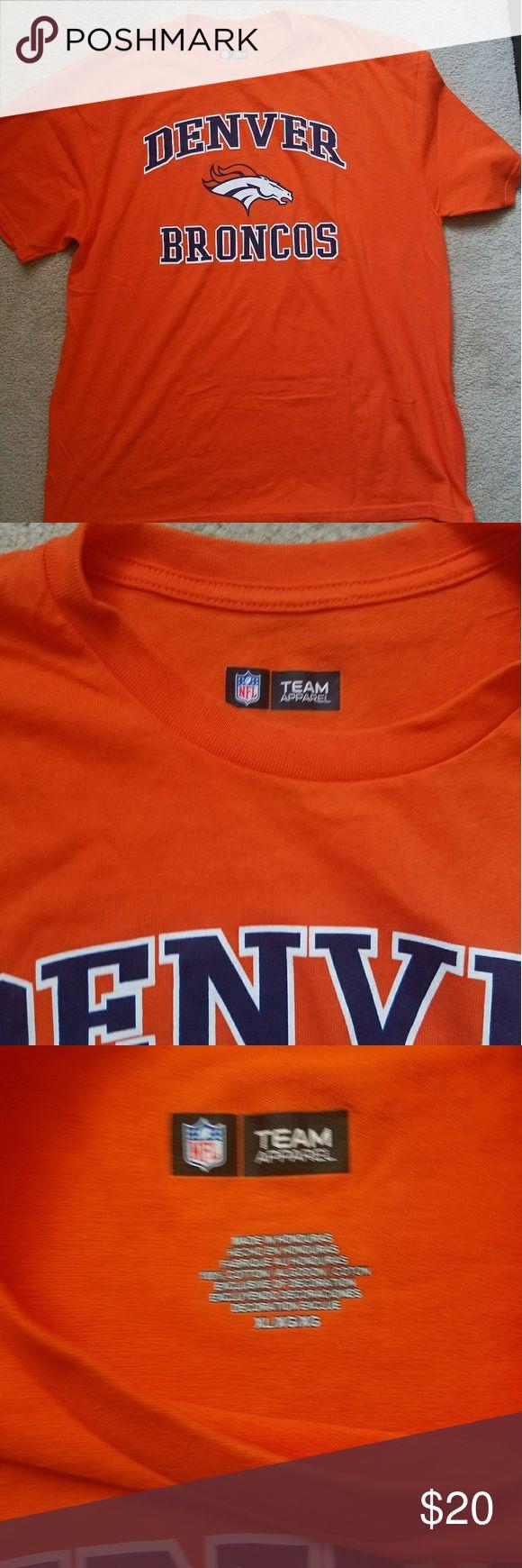 Denver Broncos t shirt Mens Denver Broncos t shirt NWOT new without tags Orange and blue  Size XL NFL Shirts Tees - Short Sleeve