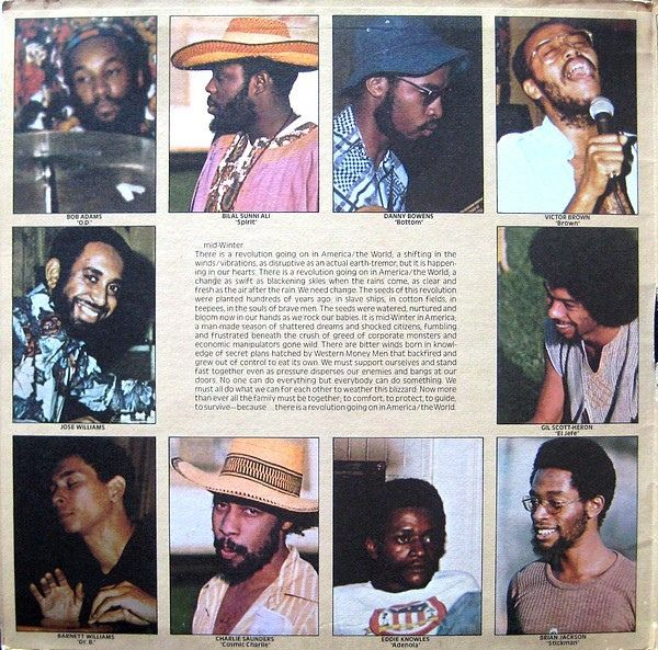 Gil Scott-Heron & Brian Jackson - Midnight Band: The First Minute Of A New Day (Vinyl, LP, Album) at Discogs