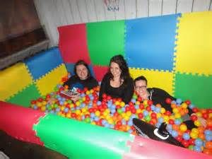 how to make a foam pit for cheap