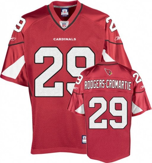 Dominique Rodgers-Cromartie Jersey, Arizona Cardinals Authentic NFL Jersey  in Red