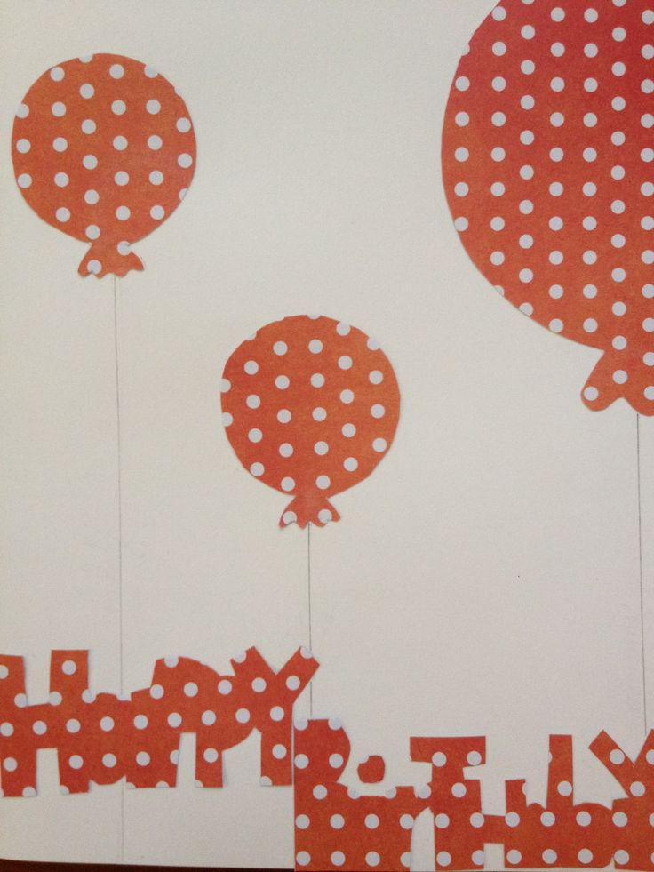 Birthday card made with love-