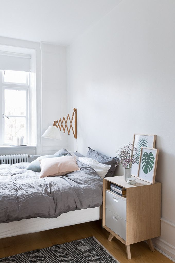 A Bright Apartment in Copenhagen Simple BedroomsModern