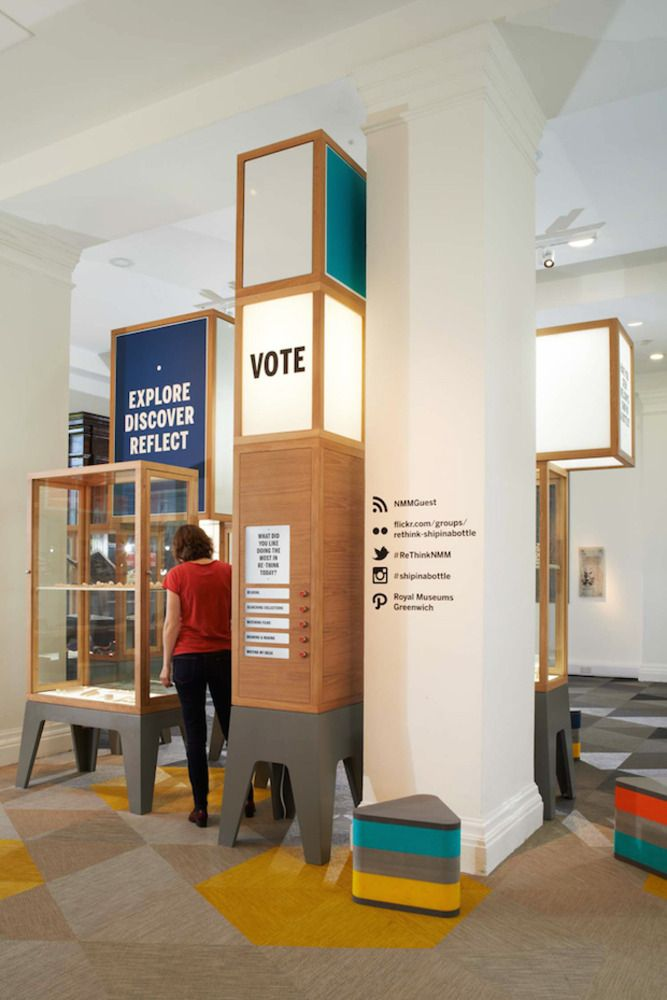 RE•THINK at the National Maritime Museum, a collaboration with Juri Nishi, Stefi Orazi and DHA design, 2014