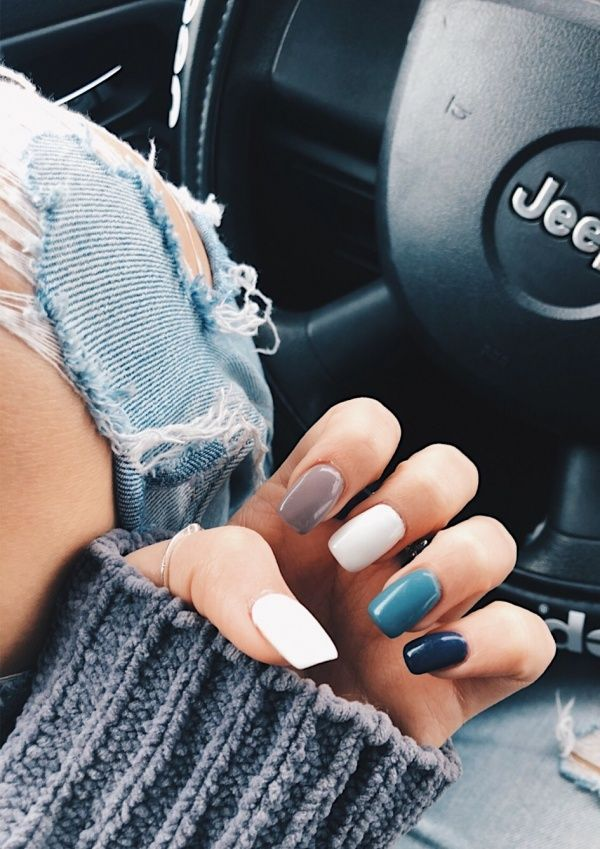 Best Summer Gel Nails 35 Best Summer Gel Nails For 2020 You Can Try In 2020 Pretty Acrylic Nails Cute Nails Cute Acrylic Nails