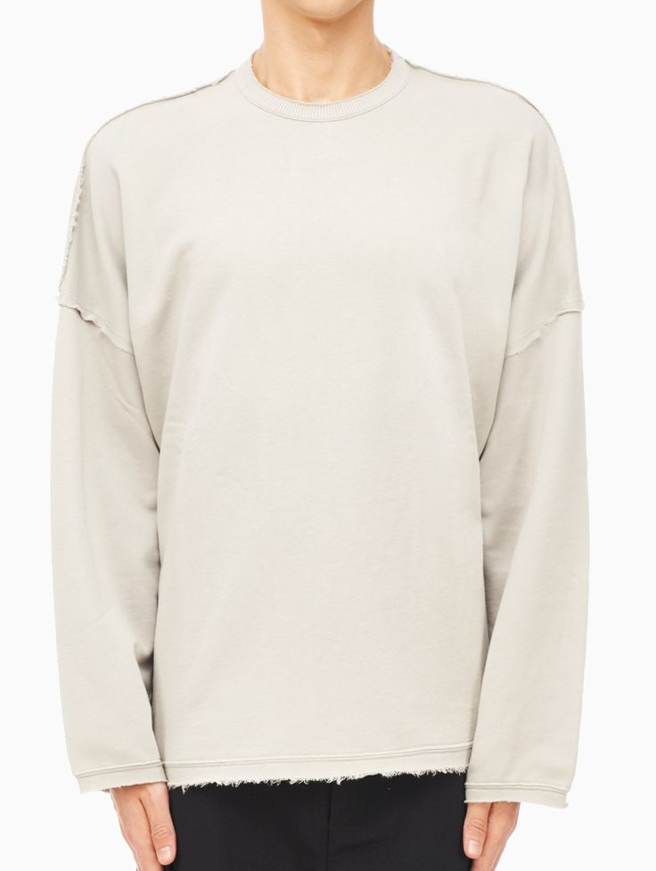Soter sweatshirt from the F/W2015-16 Silent Damir Doma collection