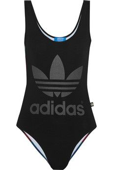 adidas Originals + Rita Ora O-Ray printed stretch bodysuit | NET-A-PORTER 60.00