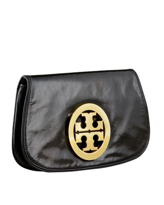 Leather Logo Clutch at CUSP.