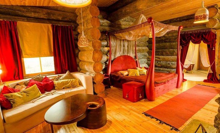 Kakslauttanen Arctic Resort, Lappland, Finland