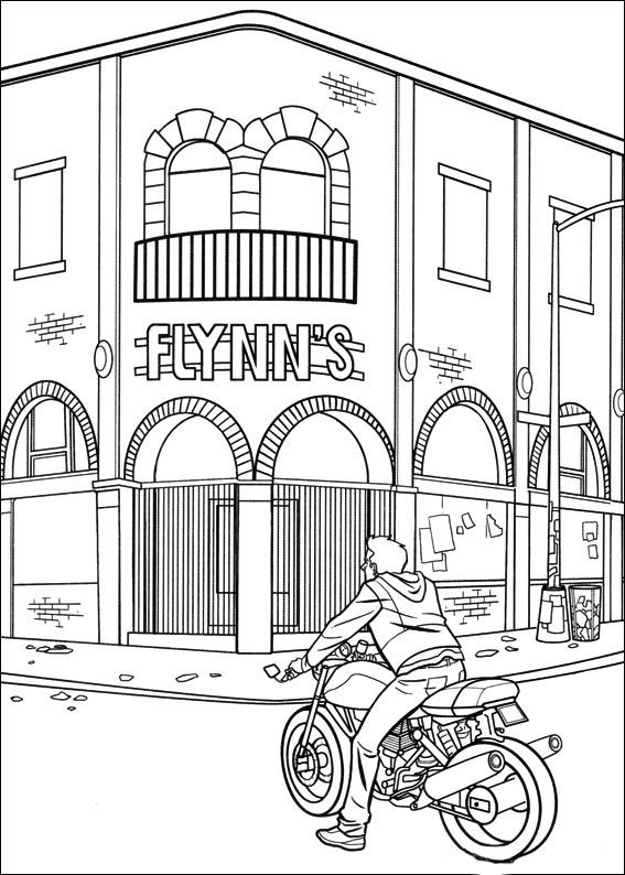 coloring kids n fun com coloring pages of and phone images clip art many interesting cliparts 29 tron coloring pages - Tron Coloring Pages