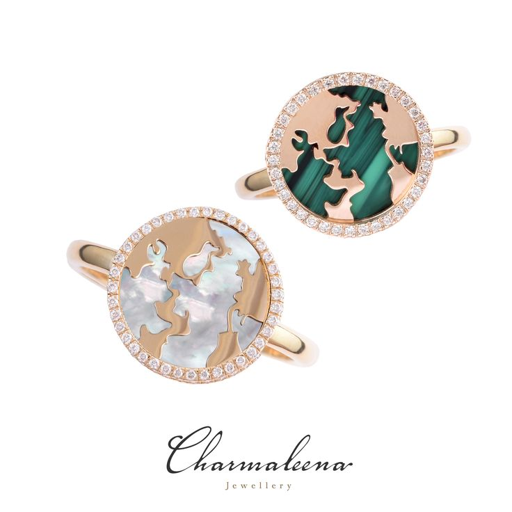 My World Ring #world  #diamond #ring #jewellery  #mycharmaleena #charmaleena #finejewellery  # yellowgold #RoseGold   #jeddah #riyadh #ksa #saudi #saudiarabia #Dubai #online #جدة  #السعودية  #دبي #الرياض