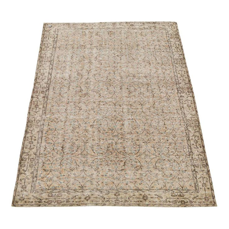 """Vintage Hand Knotted Rug - 5'6"""" x 9'1"""" - Image 1 of 5"""