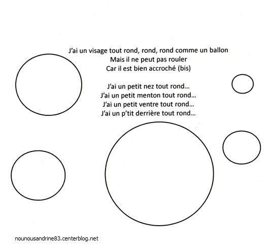 les ronds en maternelle poesie et chanson - recherche google