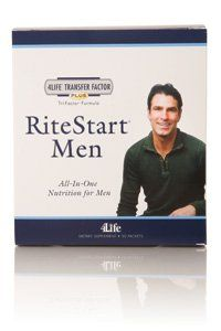 RiteStart Men 15 DAY SUPPLY by 4LIFE RESEARCH. $59.95. Complete Multivitamin and mineral supplement with transfer factor. Complete support for your body with Transfer Factor
